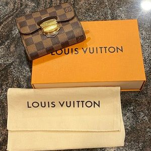 Louis Vuitton Damier Ebene Joey Wallet